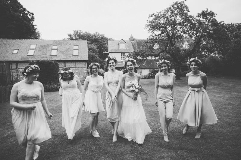 Intimate Garden Wedding Oxford