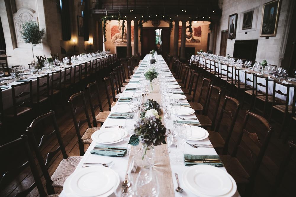 Collage-Dinner-Hall-Wedding-Oxford