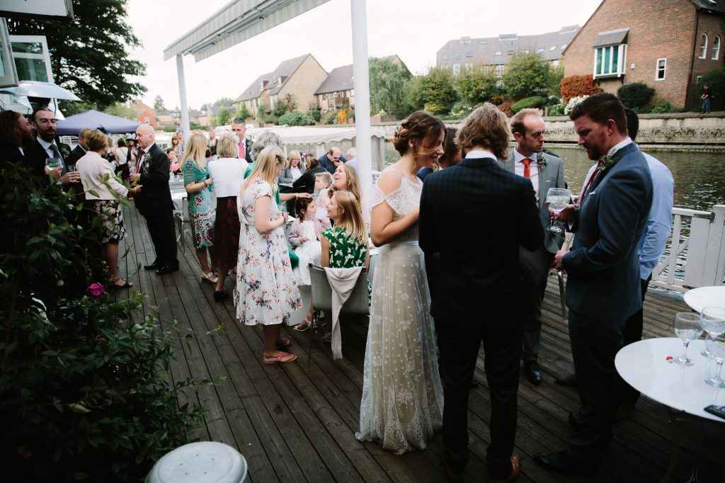 a Wedding at The Folly Restaurant in oxford
