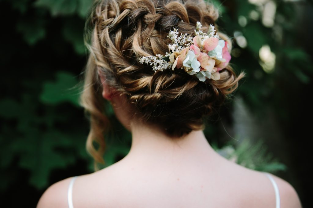 Bridal hair by Lauren Wheeler