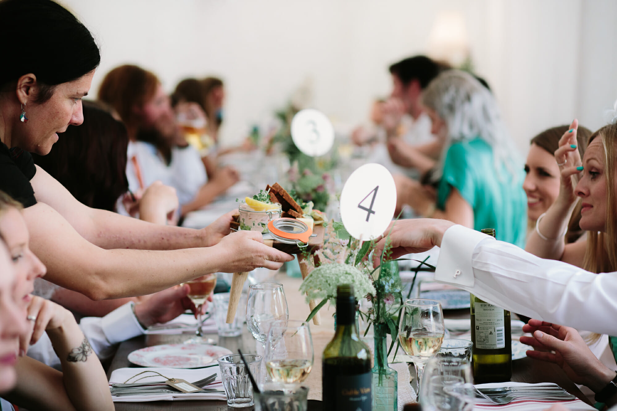 wedding day food | https://philippajamesphotography.com › five-things-for-the-perfect-wedding-day