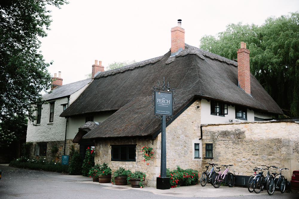 The Perch Pub in Oxford