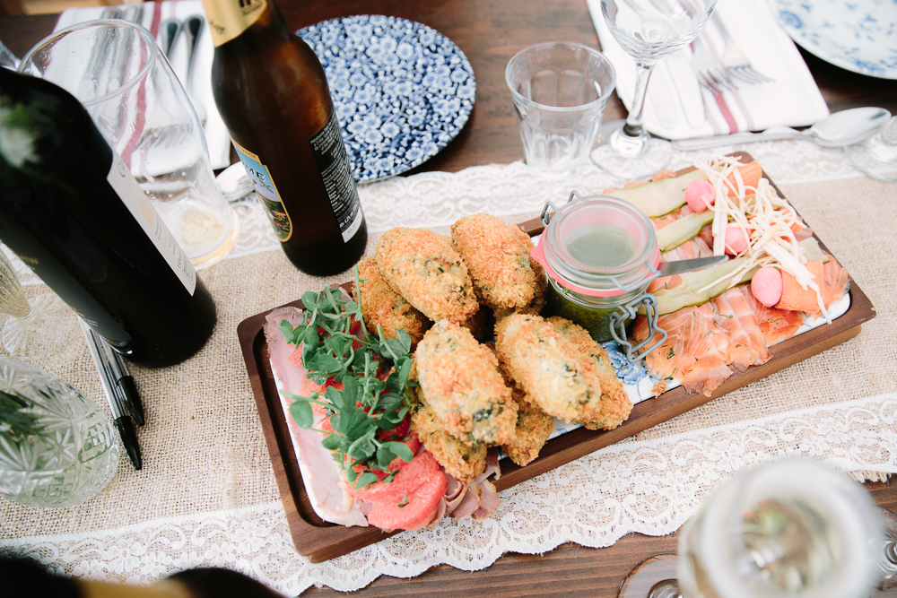 FOOD PLATTER AT THE PERCH OXFORD - BY PHILIPPA JAMES PHOTOGRAPHY