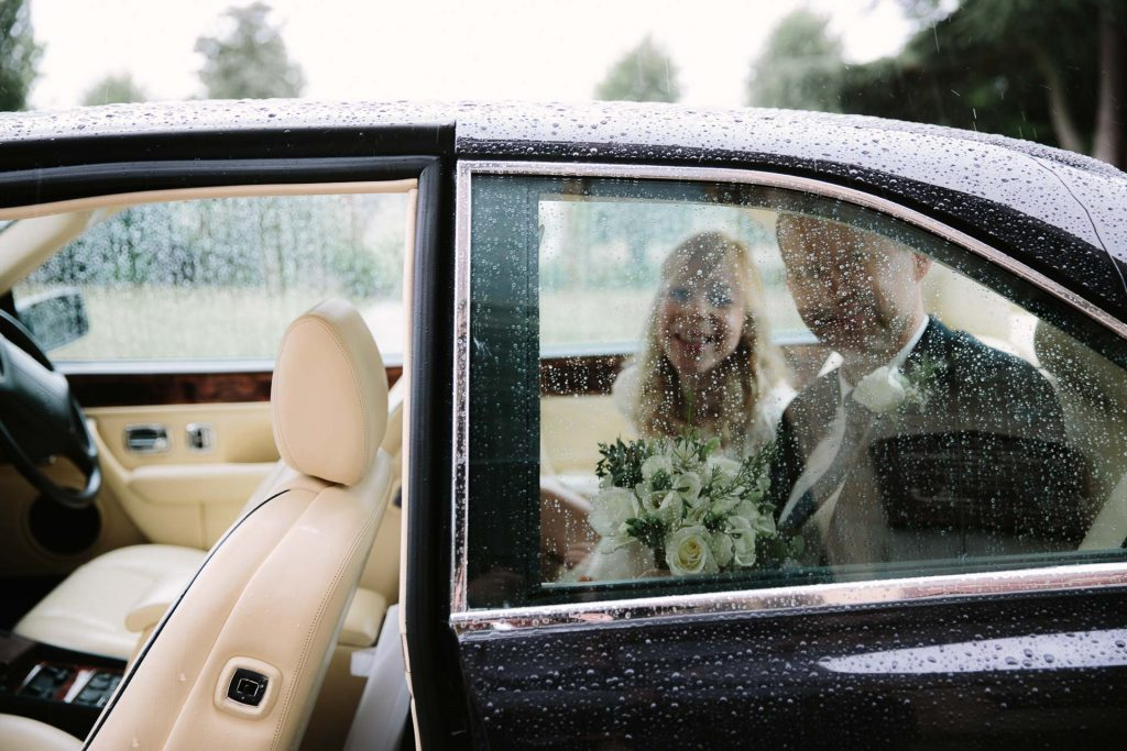 Rain on your wedding day - blog post by Philippa James Photography from The Oxford Wedding Blog