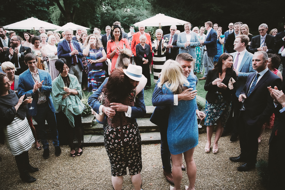 Rhodes House Wedding Party