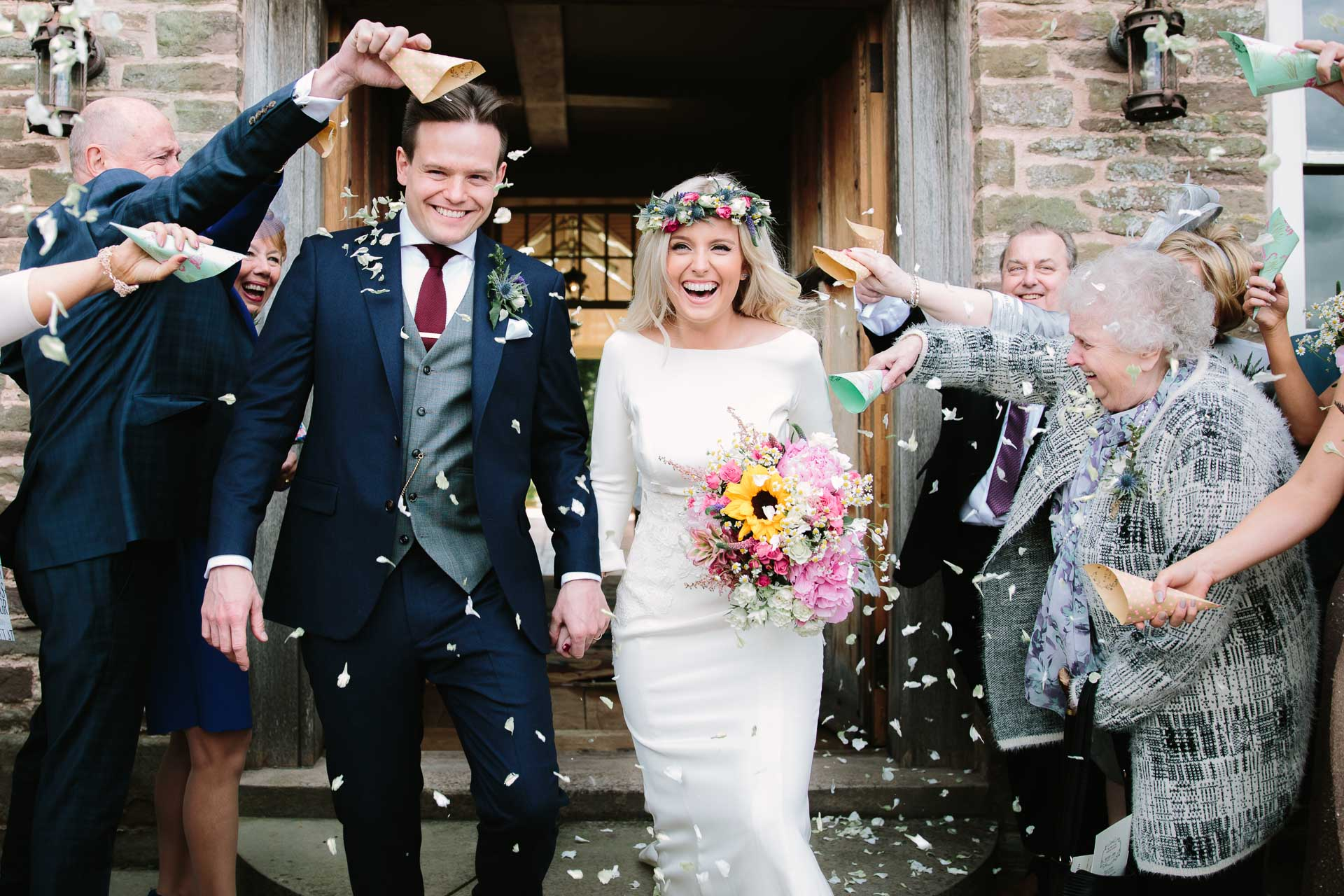 Wedding Confetti - by philippajamesphotography Oxford weddings