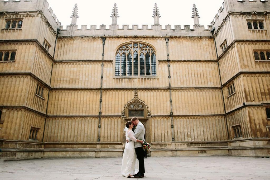 A BODLEIAN LIBRARY WEDDING