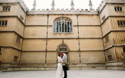 A BODLEIAN LIBRARY WEDDING
