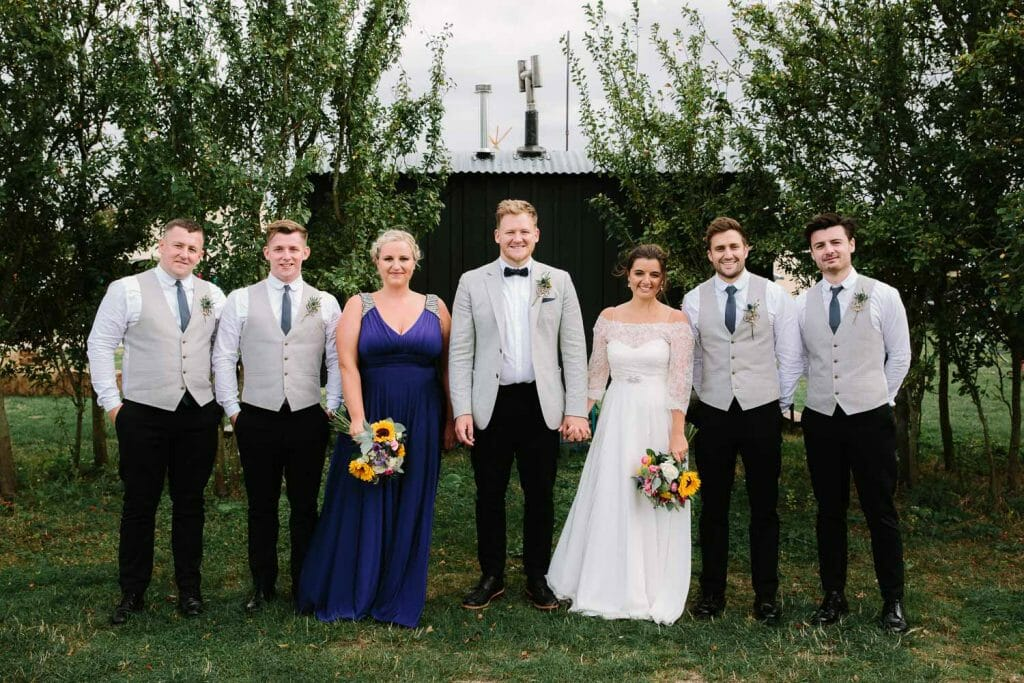 Bridal Party at The Maybush Oxford