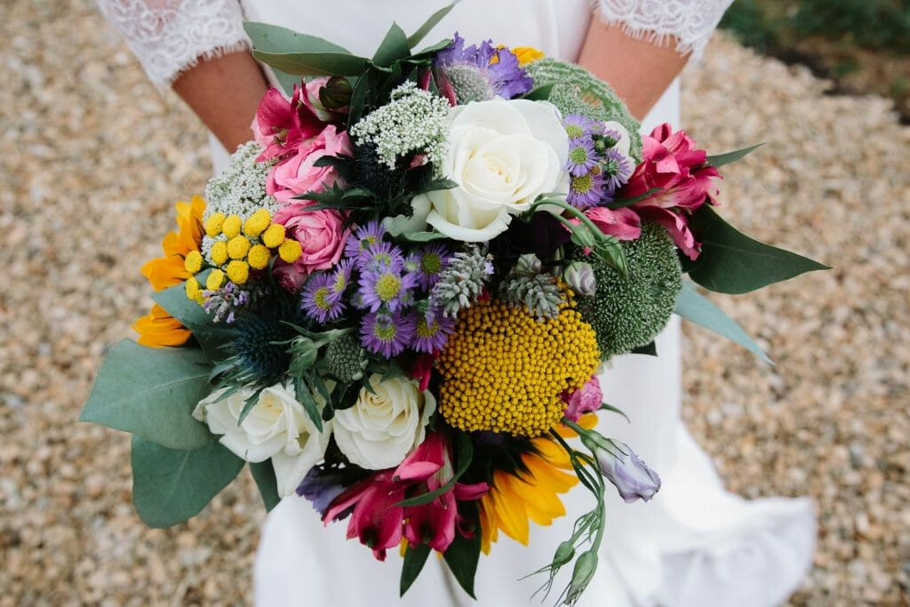 Colourful Wedding Bouquet