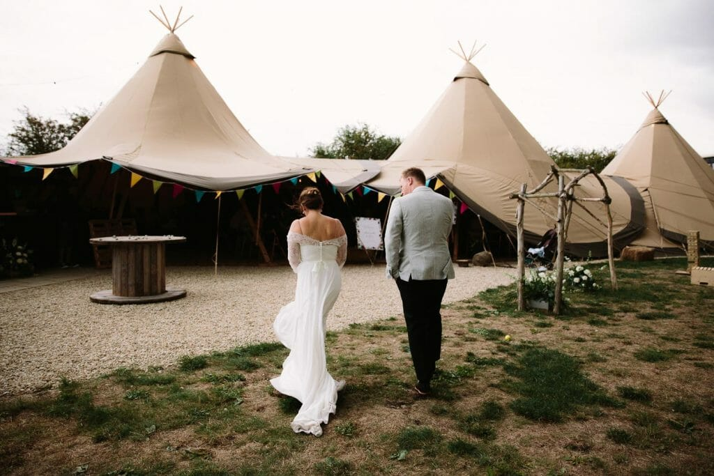 The Maybush Wedding Tipi