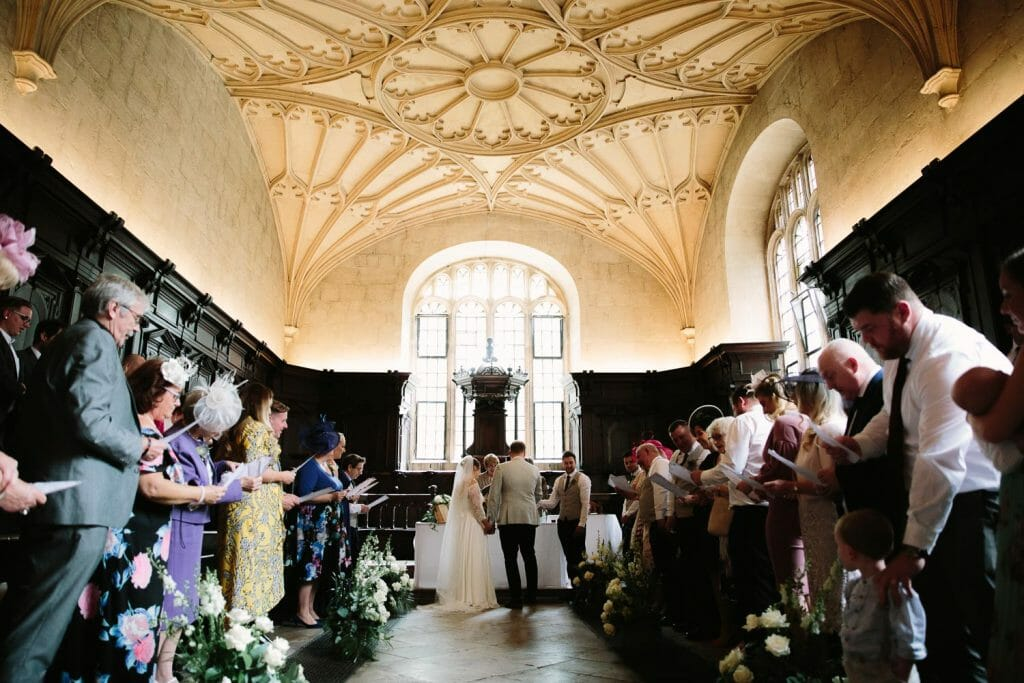 Weddings at the Bodleian Library Oxford