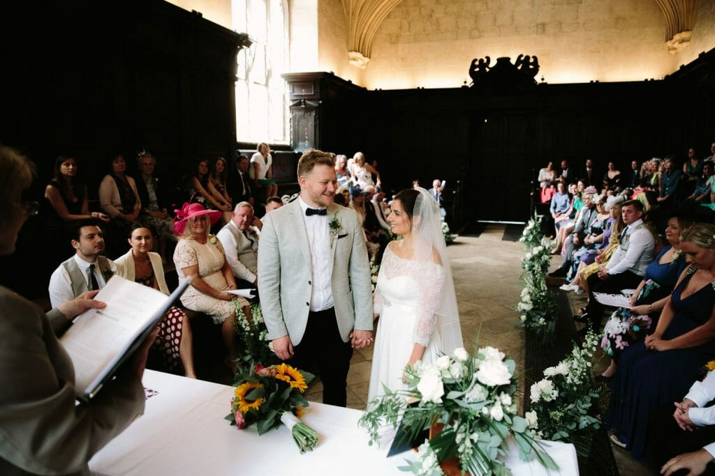 Oxford Bodleian Library Wedding