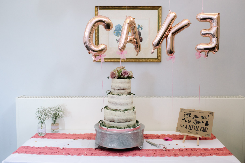 wedding cake - weddings on a budget