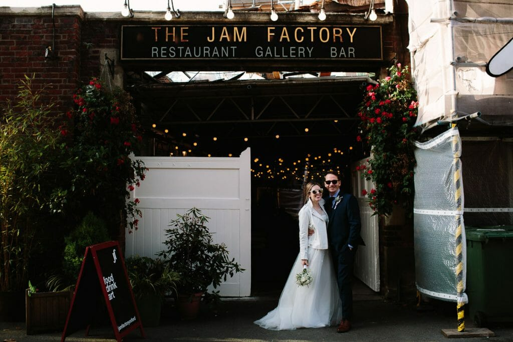 oxford wedding at the Jam Factory
