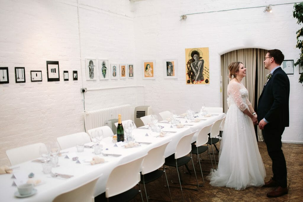 Wedding at The Jam Factory