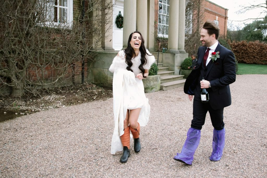 5 tips on embracing rain on your wedding day - blog post by Philippa James Photography at The Oxford Wedding Blog