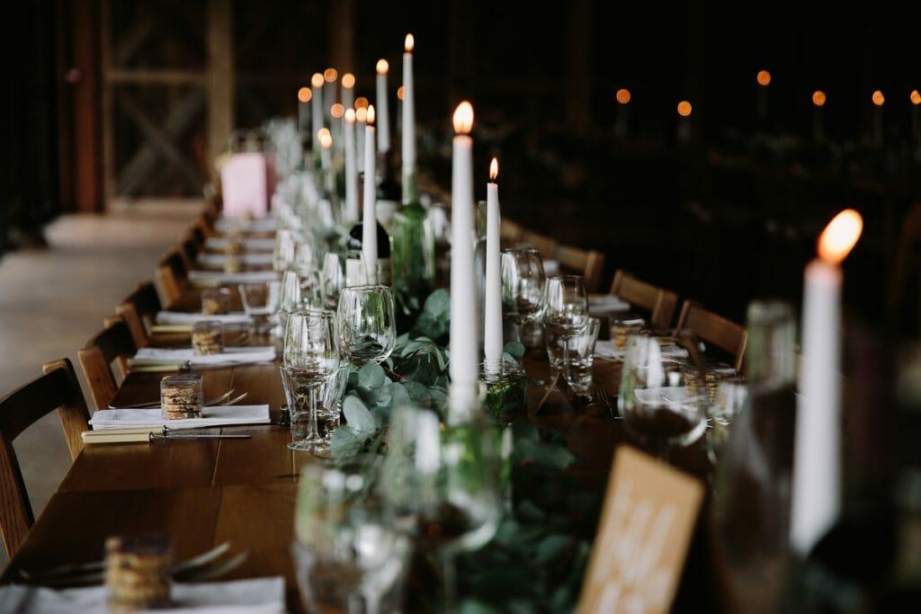 Elegant Boho Table Setting / https://philippajamesphotography.com/table-setting/