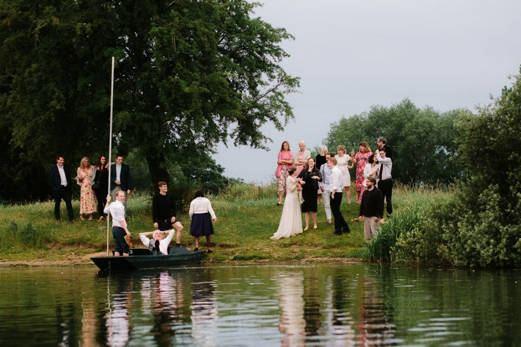 punting in Oxford - wedding entertainment ideas