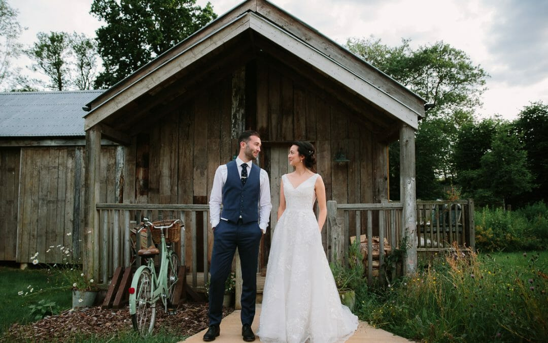 TOM + HANNAH'S RELAXED SOHO FARMHOUSE WEDDING
