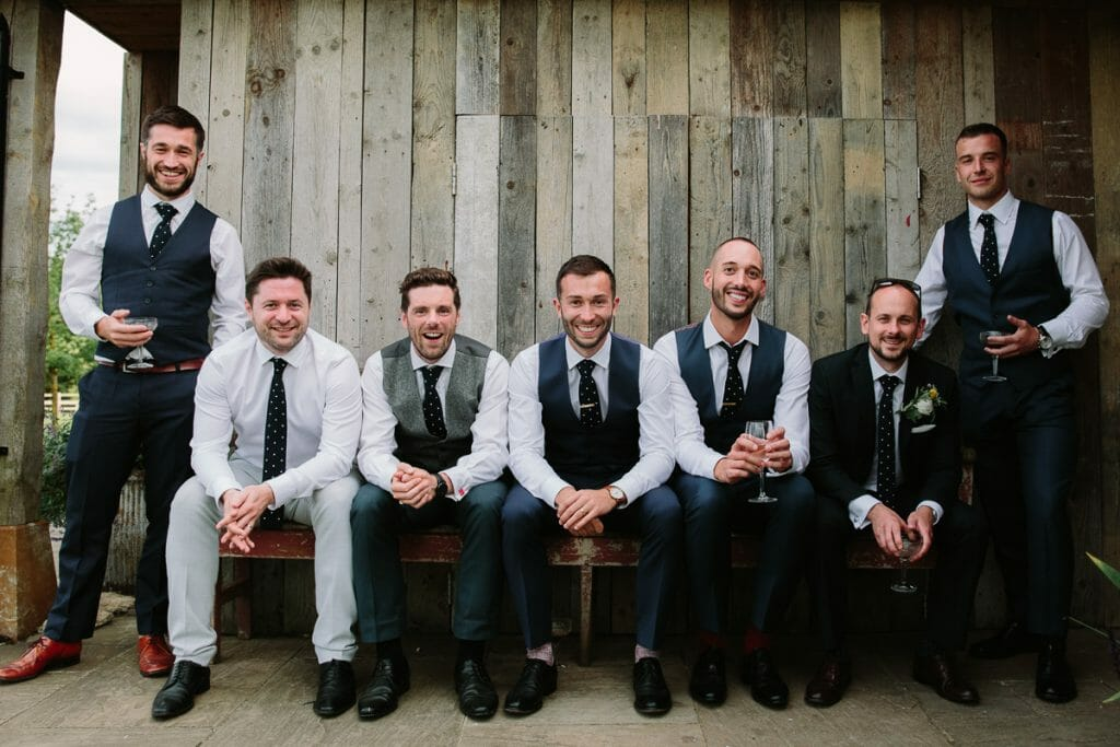 Grooms at Soho Farmhouse Oxfordshire