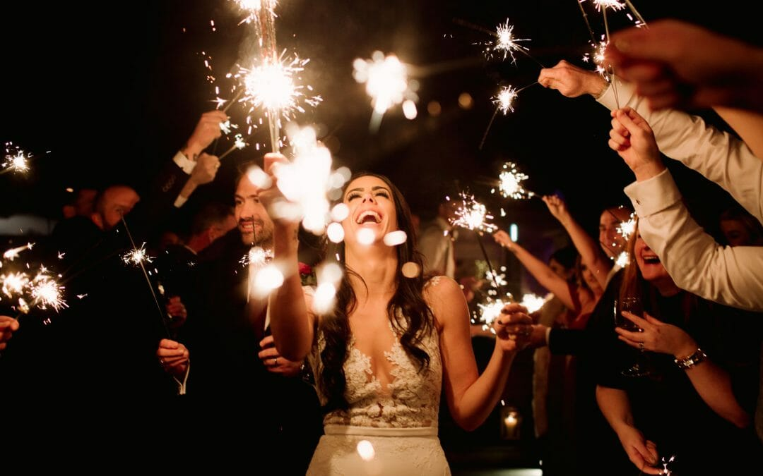 ARE YOU HAVING SPARKLERS ON YOUR WEDDING DAY?