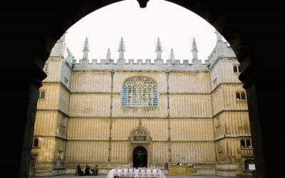 Oxford Wedding Venue – The Bodleian Library
