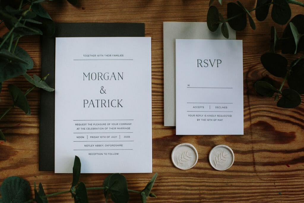 WHERE TO START WITH YOUR WEDDING INVITATIONS by The Oxford Wedding Blog