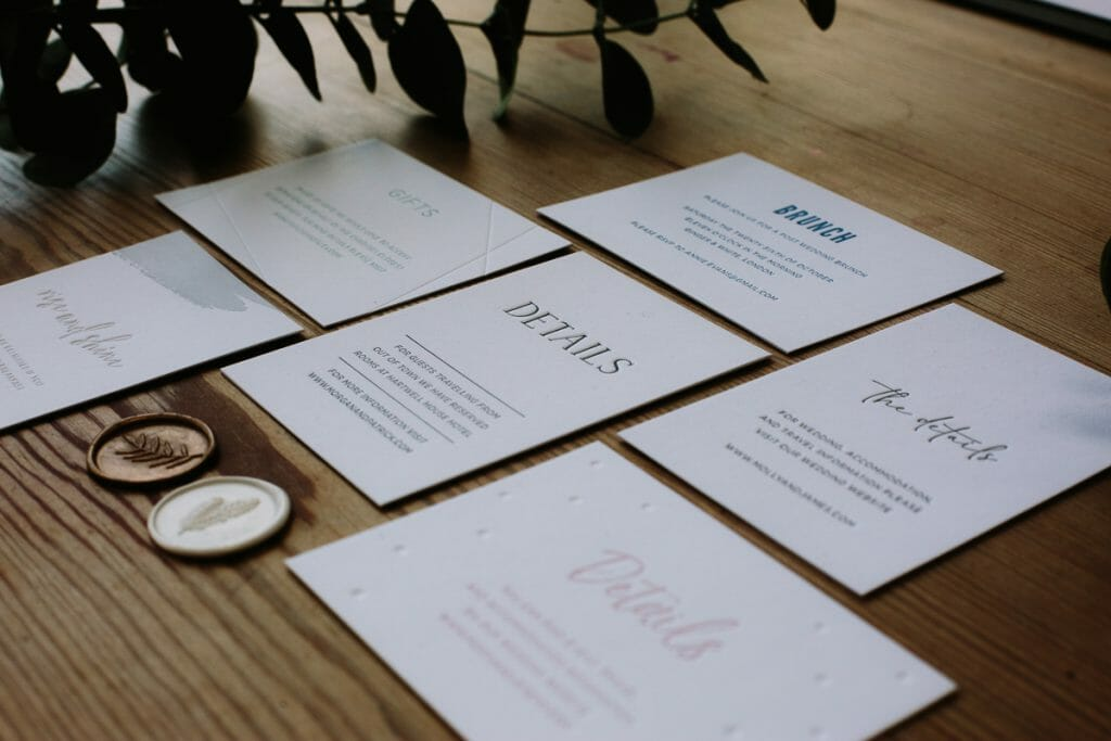 WHERE TO START WITH YOUR WEDDING INVITATIONS by Philippa James Photography