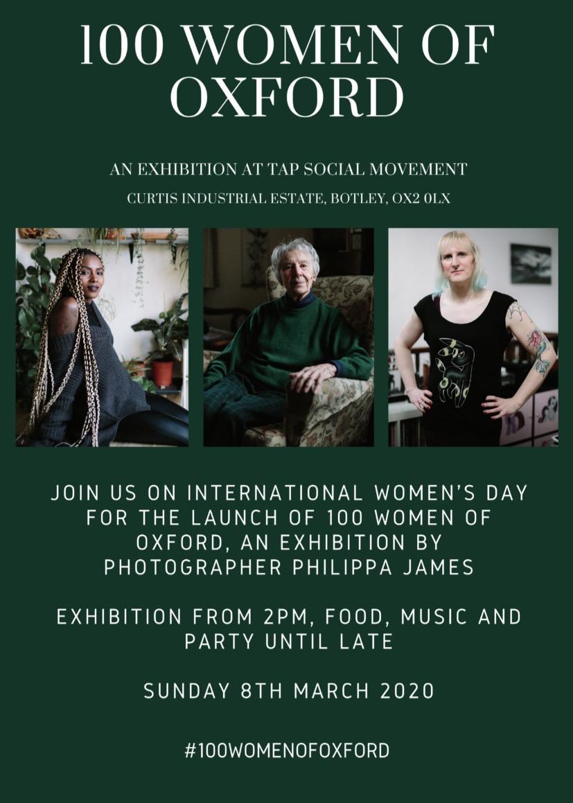 100 Women of Oxford day Philippa James