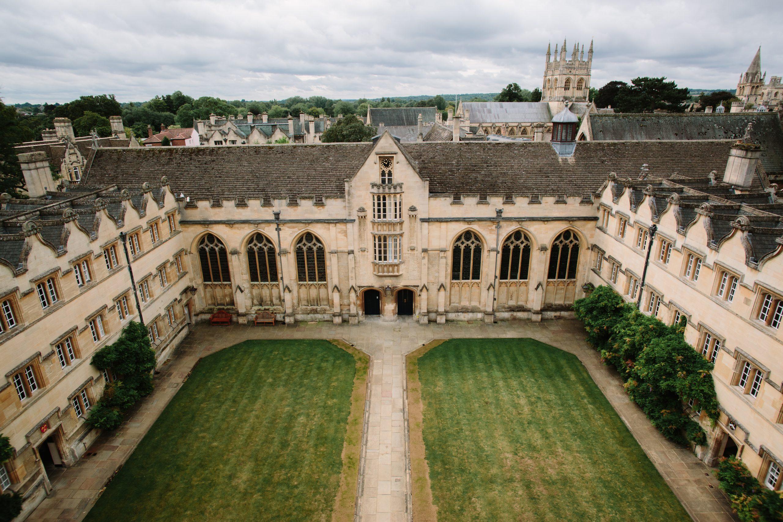 Oxford University by Philippa James