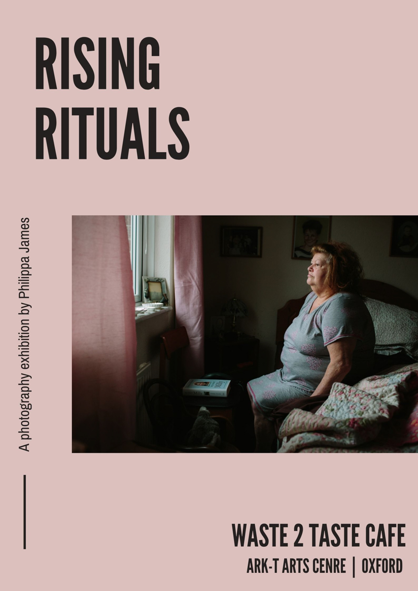 Rising Rituals Exhibition at Waste 2 Taste Cafe ArkT Centre by Philippa James