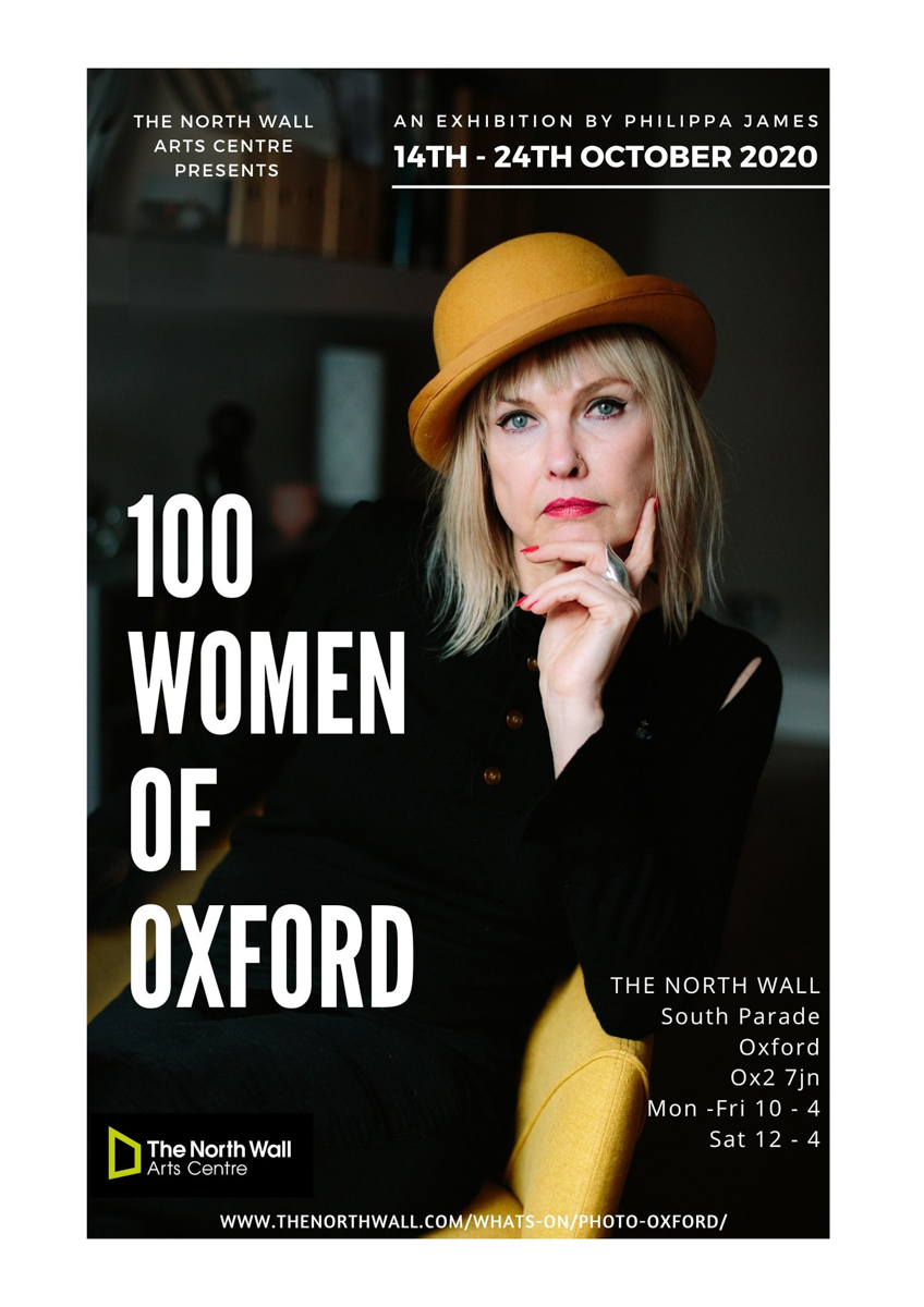 100 Women of Oxford Exhibition by Philippa James