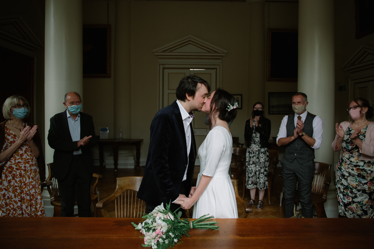 Woodstock Town Hall Wedding by Philippa James