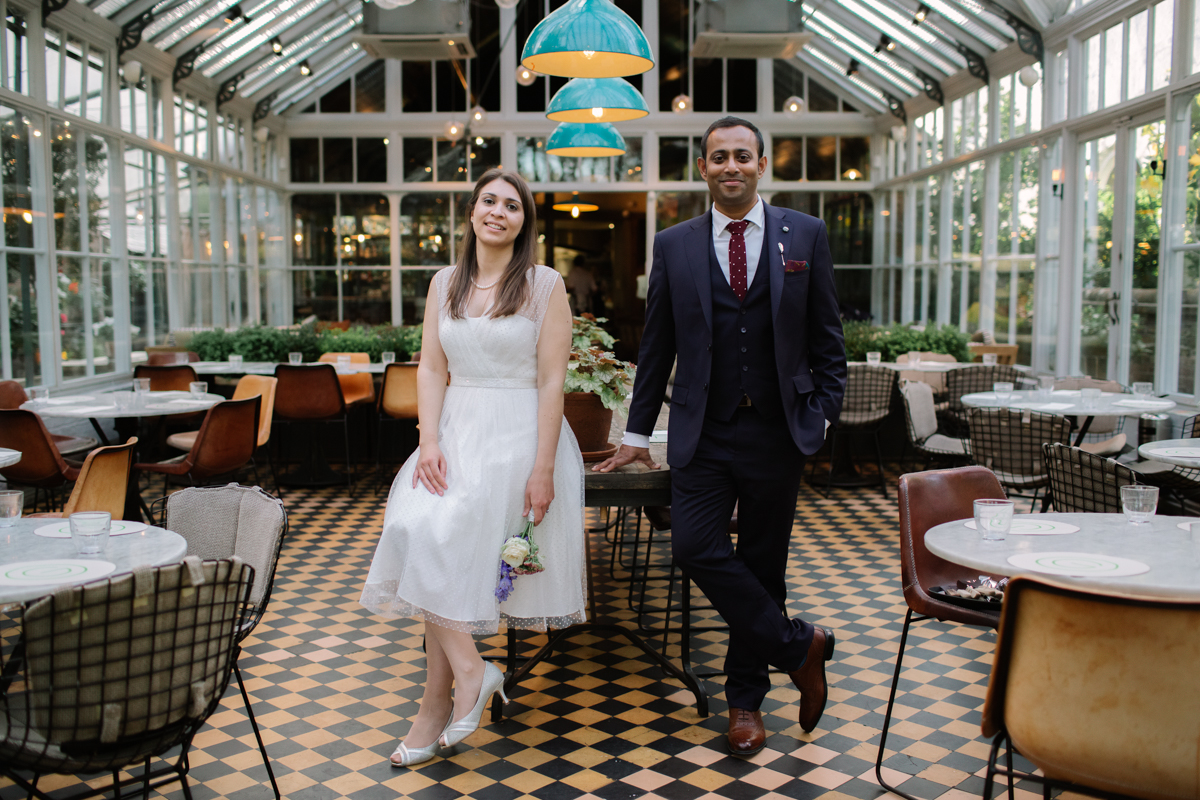 wedding at Gees restaurant by Philippa James Photography