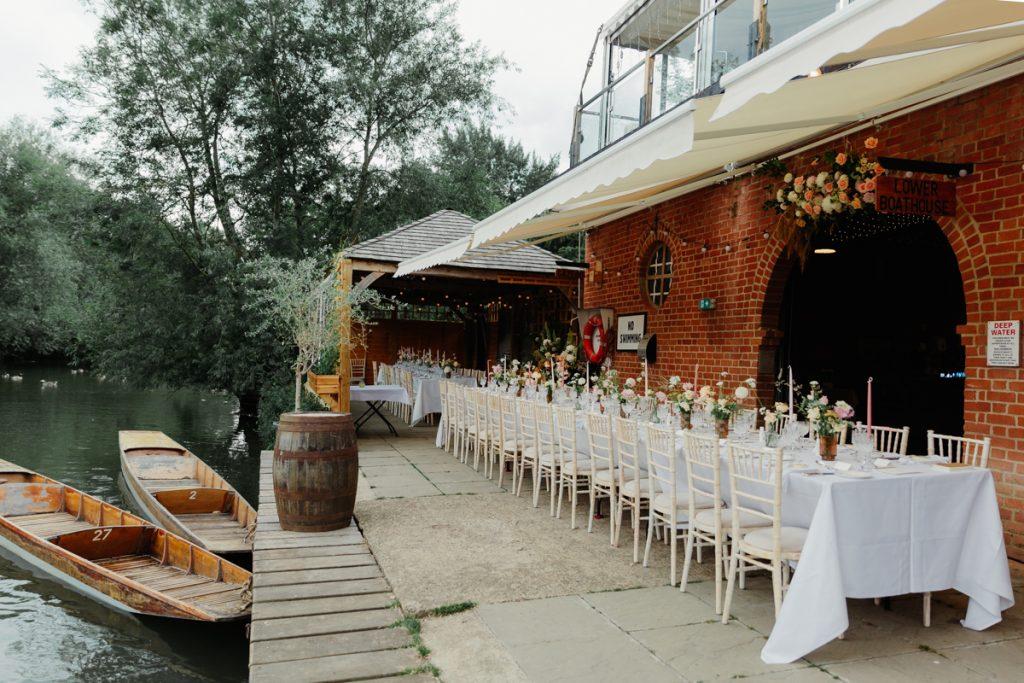 Cherwell Boathouse Wedding