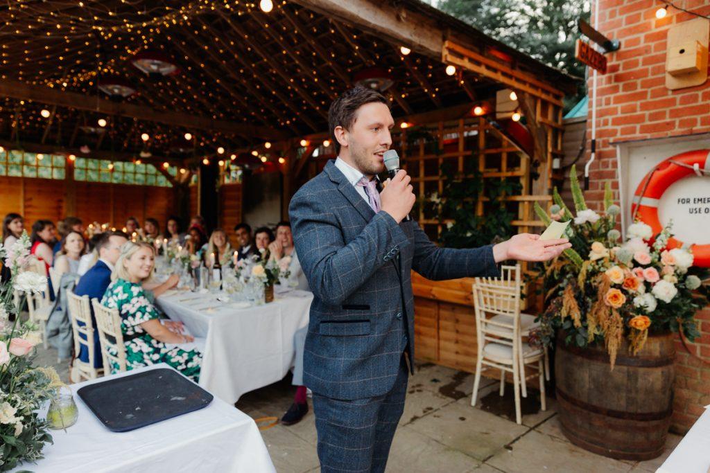 Cherwell Boathouse Wedding Speeches
